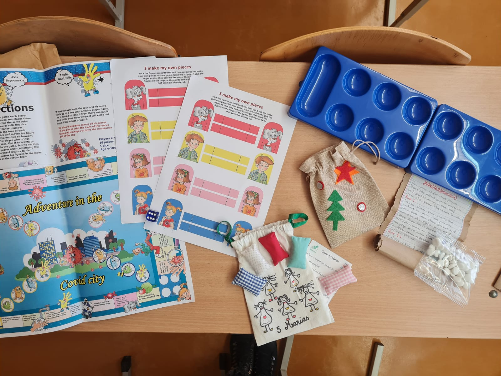 Think and Create your own Hobbies - Christmas Games Exchange